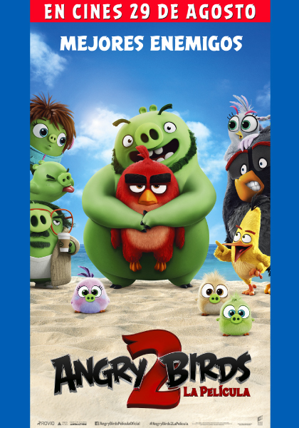 Canje de entradas Angry Birds 2 La película
